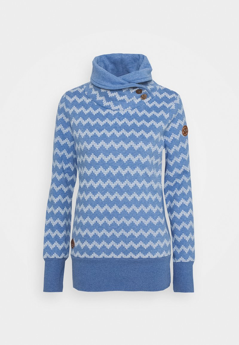 Ragwear ZIG ZAG - Sweatshirt - blue/blau 4EORPY