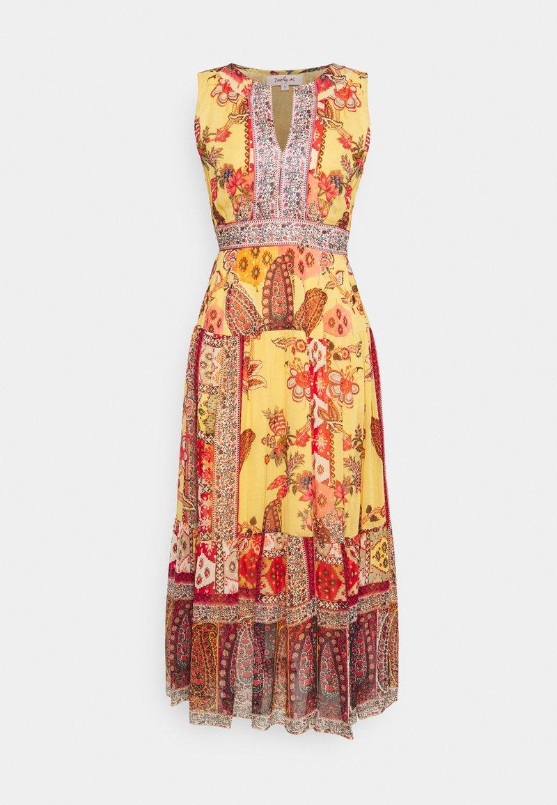 Derhy - SALEM DRESS - Długa sukienka - yellow