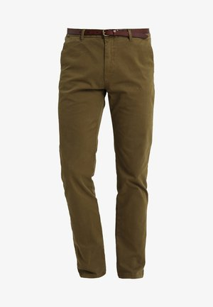 STUART - Pantalones chinos - military