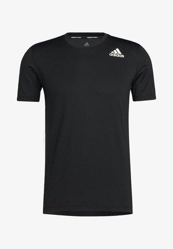 TURF SS PRIMEGREEN TECHFIT TRAINING WORKOUT COMPRESSION T-SHIRT - Print T-shirt - black