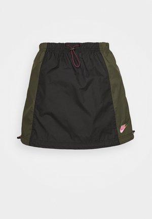 A-line skirt - black/twilight marsh