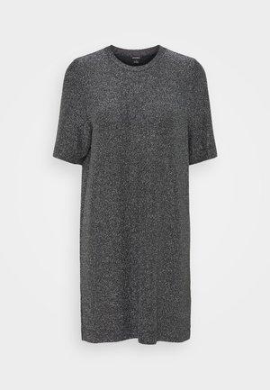 IZZY DRESS - Day dress - black/silver