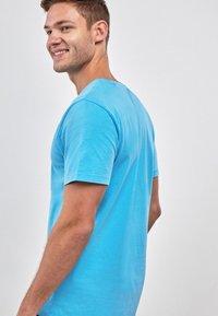 Next - Basic T-shirt - blue - 1