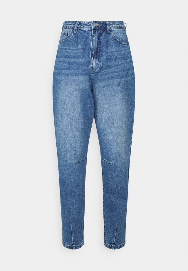 HIGH RISE CARROT LEG - Jeans Tapered Fit - blue