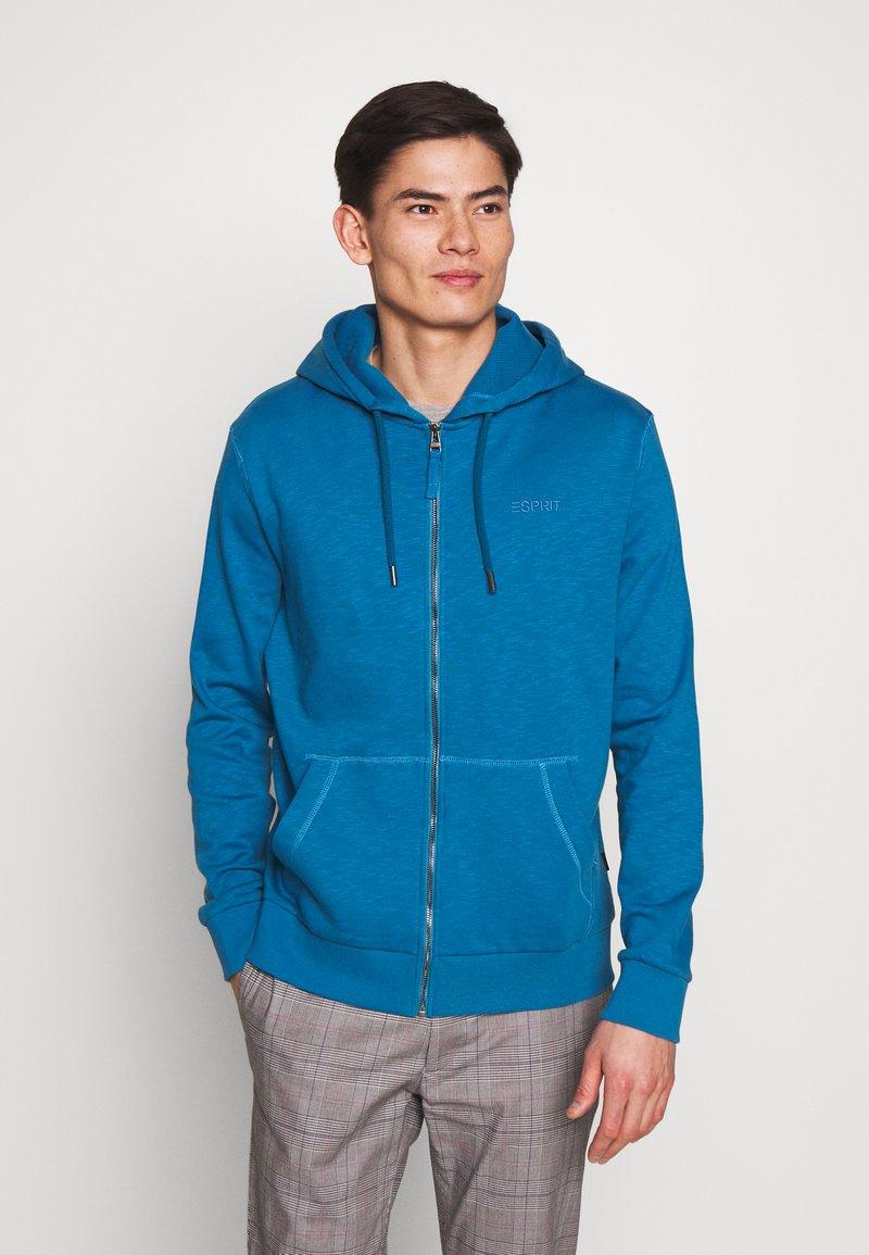 Esprit - Bluza rozpinana - petrol blue