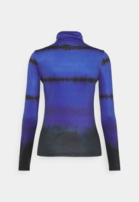 Who What Wear - RUCHED TURTLENECK - Long sleeved top - blue - 7