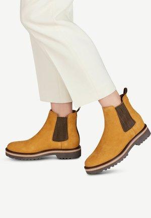 BOOTS - Classic ankle boots - saffron