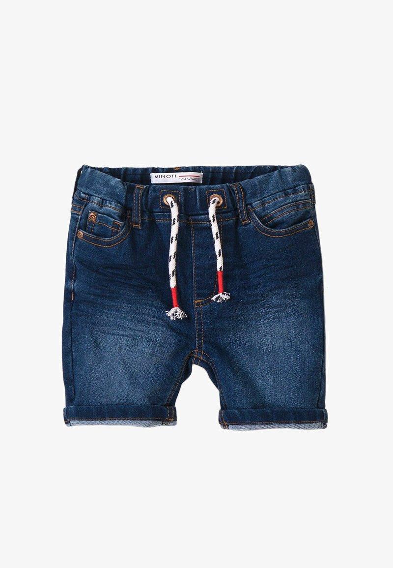 MINOTI - Shorts di jeans - blue