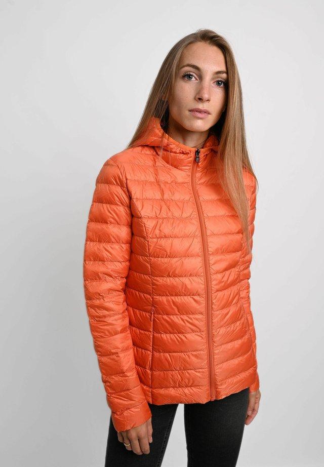 Down jacket - orange