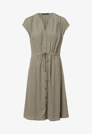 Shirt dress - sage