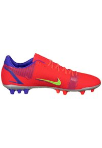 Nike Performance - MERCURIAL VAPOR ACADEMY AG F - Moulded stud football boots - bright crimson/metallic silver - 6