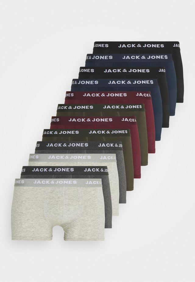 JACSOLID TRUNKS 12 PACK - Underbukse - navy blazer/black