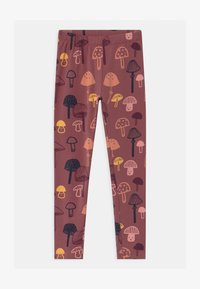 Lindex - MINI KIDS MUSHROOM - Leggings - Trousers - dusty lilac - 0