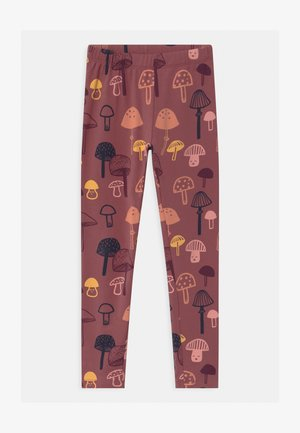 MINI KIDS MUSHROOM - Leggings - dusty lilac