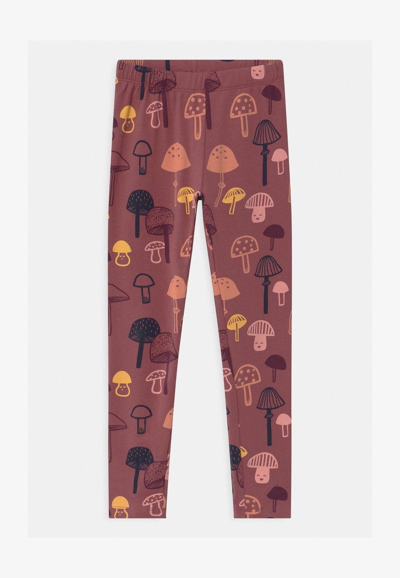 Lindex - MINI KIDS MUSHROOM - Leggings - Trousers - dusty lilac