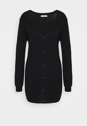PCESERA LONG CARDIGAN  - Cardigan - black