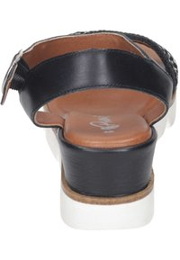 Piazza - Wedge sandals - black - 2