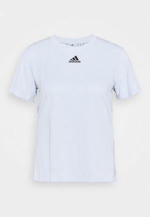 TEE H.RDY - Print T-shirt - light blue