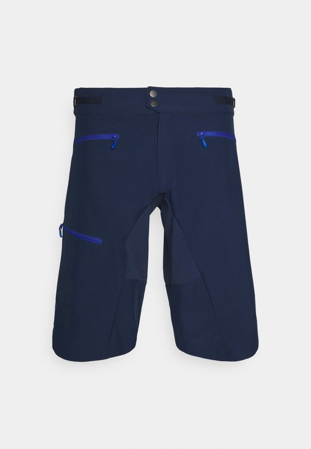 FJØRÅ FLEX1 MID WEIGHT SHORTS - Sports shorts - indigo night