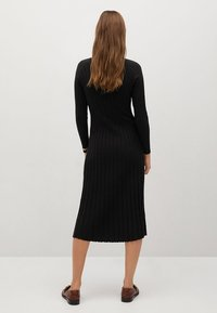 Mango - FLURRY - Jumper dress - noir - 1