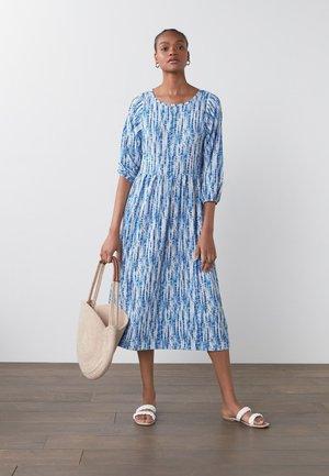 TIER - Day dress - blue
