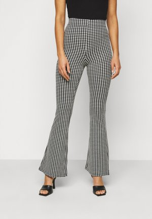 GINGHAM  - Trousers - mono