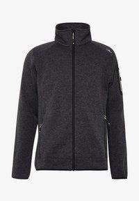 Fleece jacket - nero/glacier