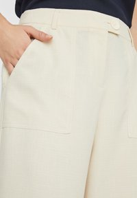 Vero Moda - HOSE HIGH WAIST CULOTTE - Trousers - birch - 3