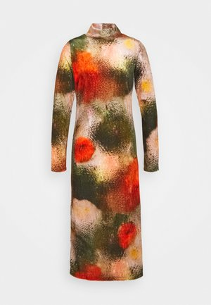 POLLEN DRESS WET FLOWERS - Trikoomekko - multi-coloured