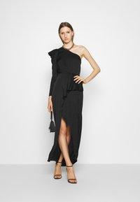 DESIGNERS REMIX - MEA ONE SHOULDER DRESS - Occasion wear - black - 1