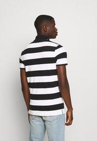 Hollister Co. - Polo shirt - black/white - 2