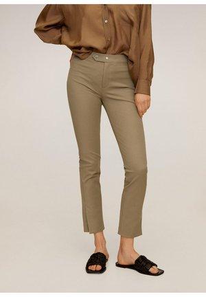 LARA - Kalhoty - mittelbraun