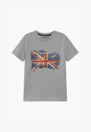 SIDD - Camiseta estampada - mottled grey