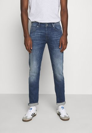 MARSHALL - Slim fit jeans - dark used