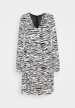 UTOPIA - Korte jurk - bianco/nero