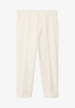 AUS CORD - Spodnie materiałowe - ecru