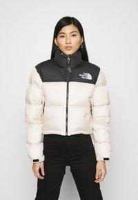 The North Face - NUPTSE CROP - Down jacket - pink tint - 0