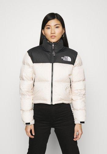 NUPTSE CROP - Down jacket - pink tint