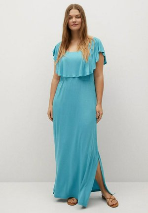 Maxi šaty - türkis