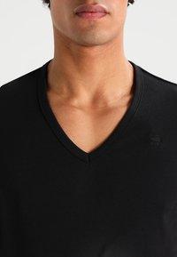 G-Star - BASE 2 PACK - T-shirt - bas - black - 4