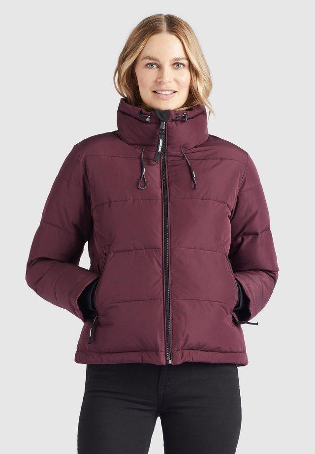 TUBA - Winter jacket - weinrot