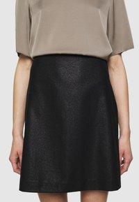 Filippa K - HOLLY SKIRT - A-line skirt - black - 3