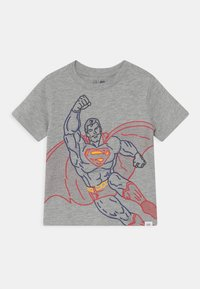 GAP - TODDLER BOY - Print T-shirt - light heather grey - 0