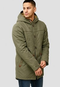 INDICODE JEANS - Winter coat - dark green - 4