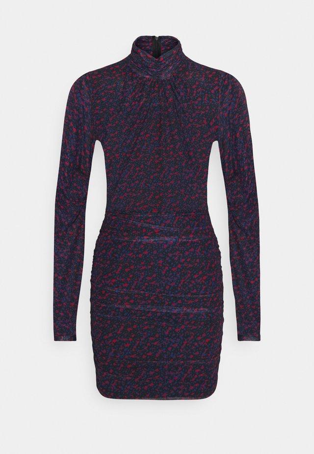 FEMY DRESS - Shift dress - rough red