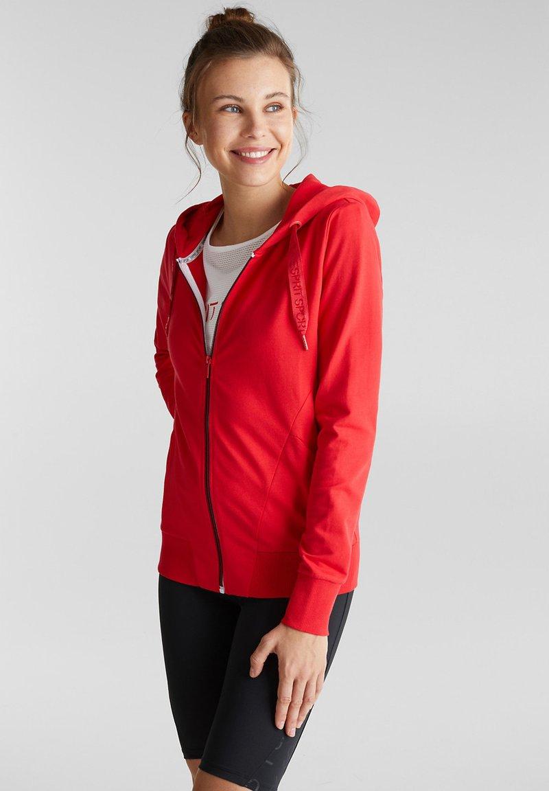 Esprit Sports - Hoodie - red