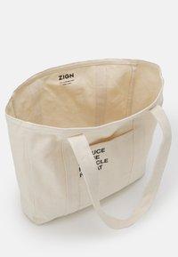 Zign - Tote bag - sand - 2