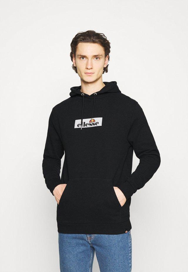 YUKOR - Bluza z kapturem - black