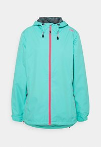 CMP - WOMAN RAIN JACKET FIX HOOD - Giacca outdoor - giada - 0