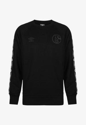 FC SCHALKE 04 TAPED HERREN - Sweatshirt - black
